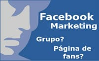Páginas versus Grupos no Facebook