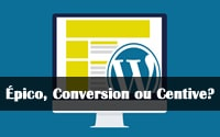 template épico, conversion wp e centive avante