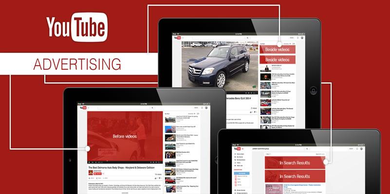 anúncios no youtube