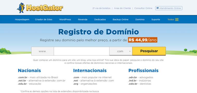 dominio hostgator