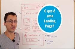 o que é uma landing page blog