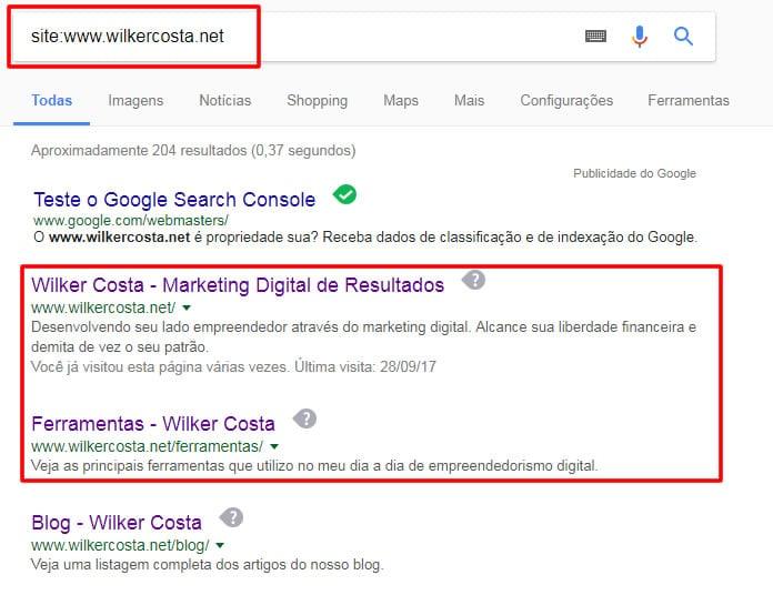 print resultados de pesquisa wilker costa