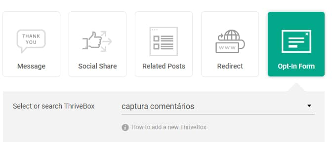 captura contatos thrive comments