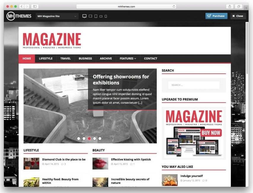 MH Magazine Lite