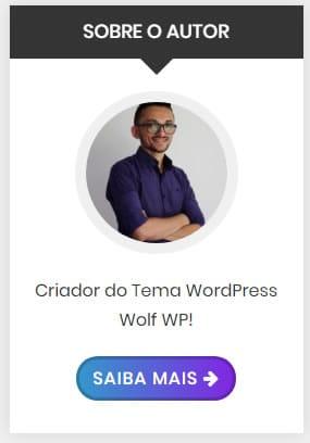 widget sobre o autor