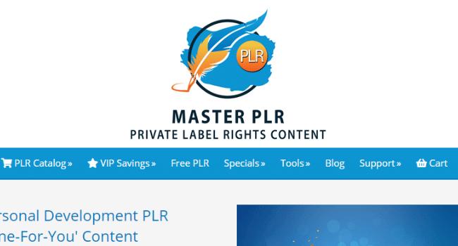 master plr